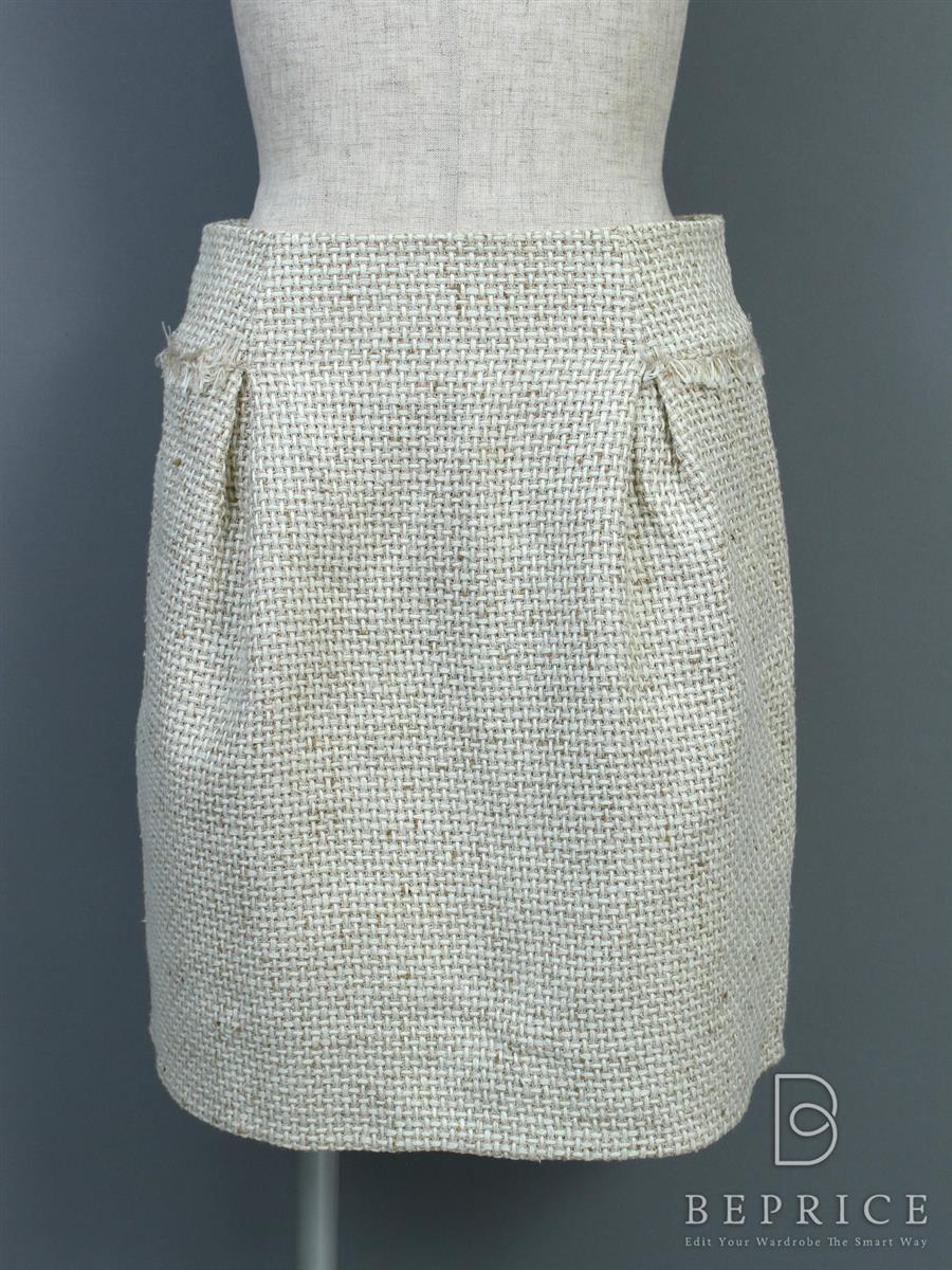 フォクシーブティック スカート スカート ツイード 30396