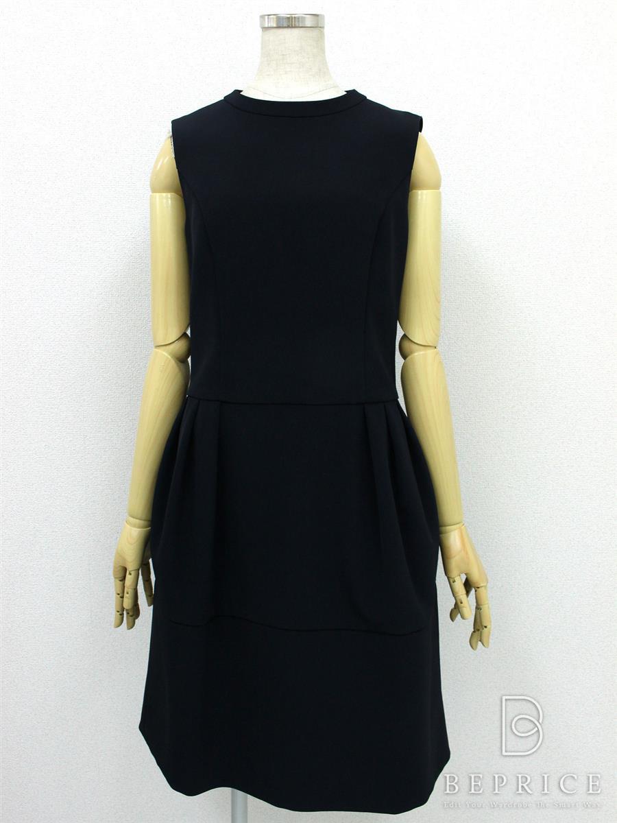 フォクシーニューヨーク ワンピース Tuck Cocoon Dress 34096