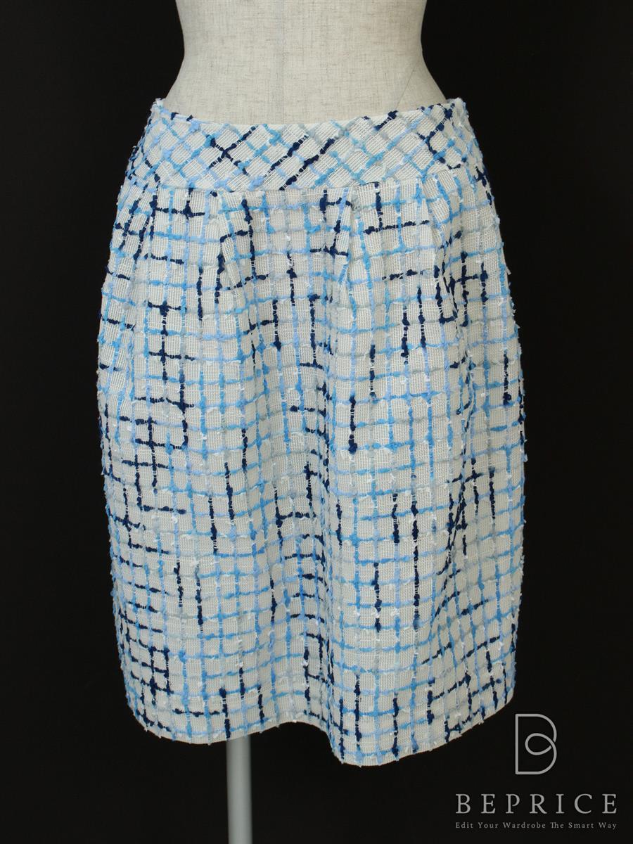 エムズグレイシー スカート スカート ツイード風