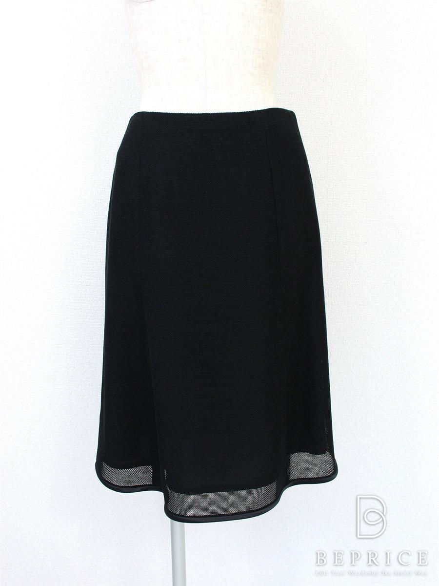 エムズグレイシー スカート スカート メッシュ フレアー