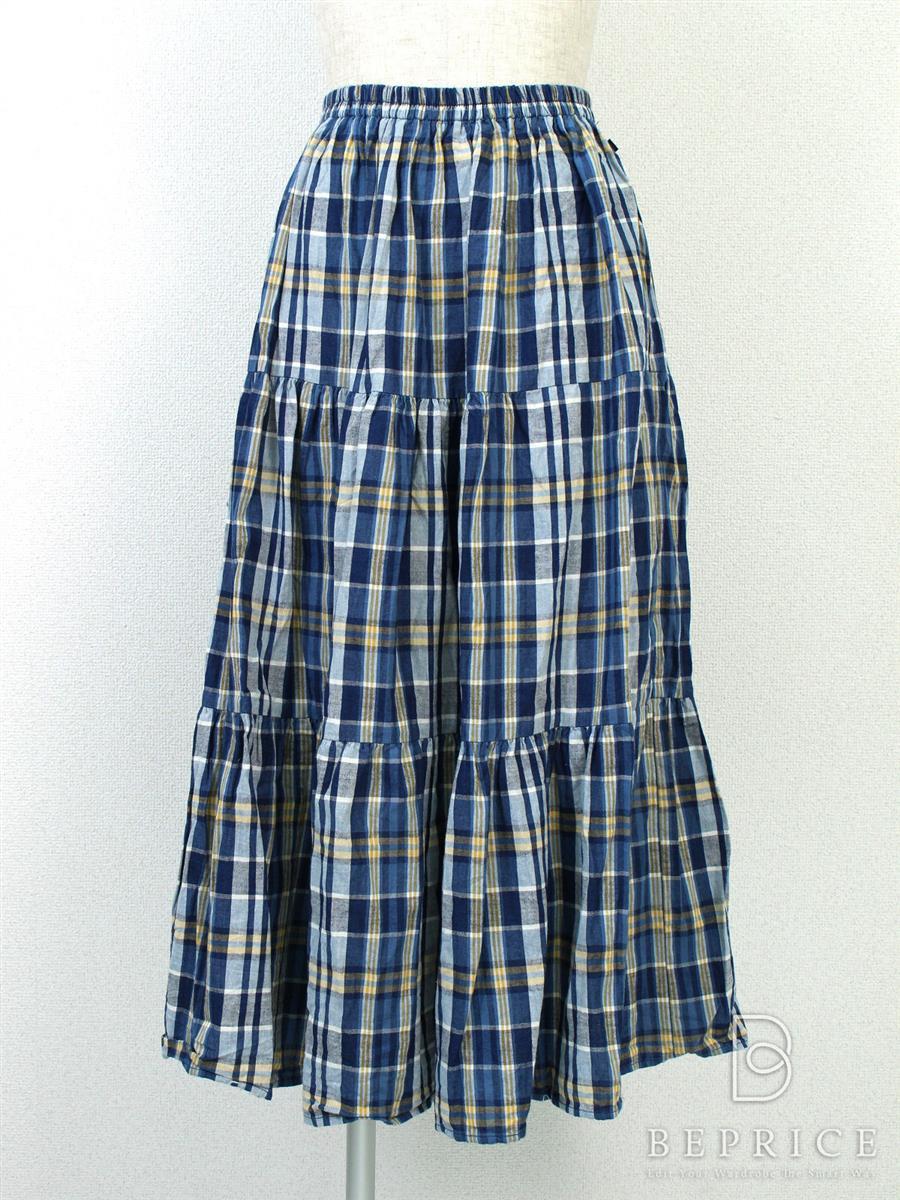 ロンハーマン スカート スカート ロング チェック柄