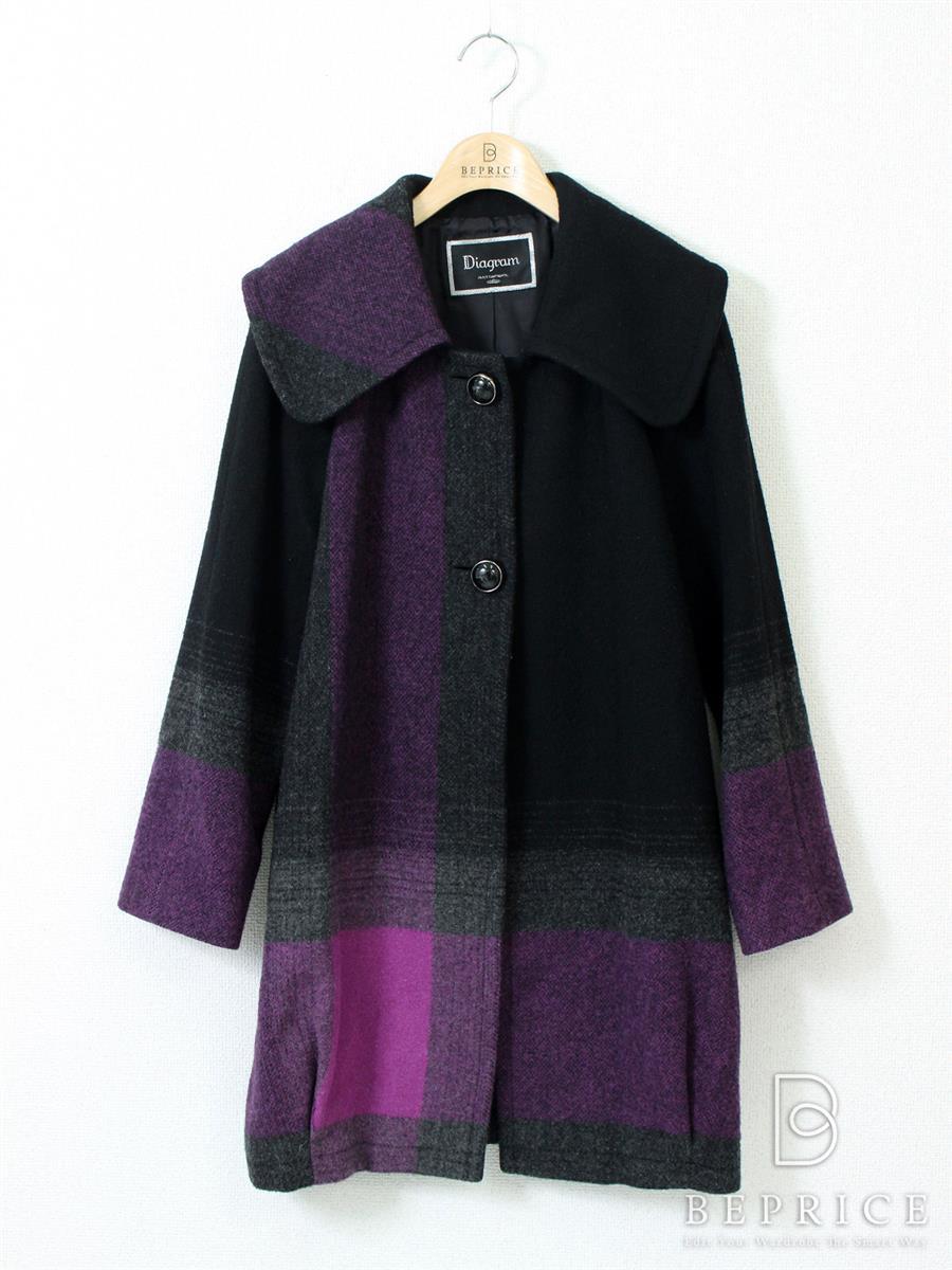 グレースコンチネンタル コート コート ウール