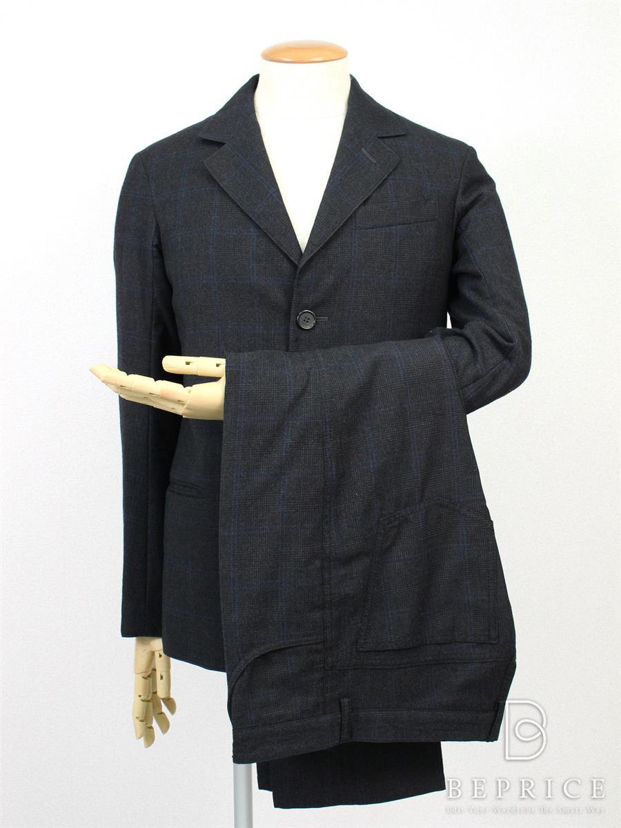 プラダ スーツ スーツ パンツ ジャケット チェック柄
