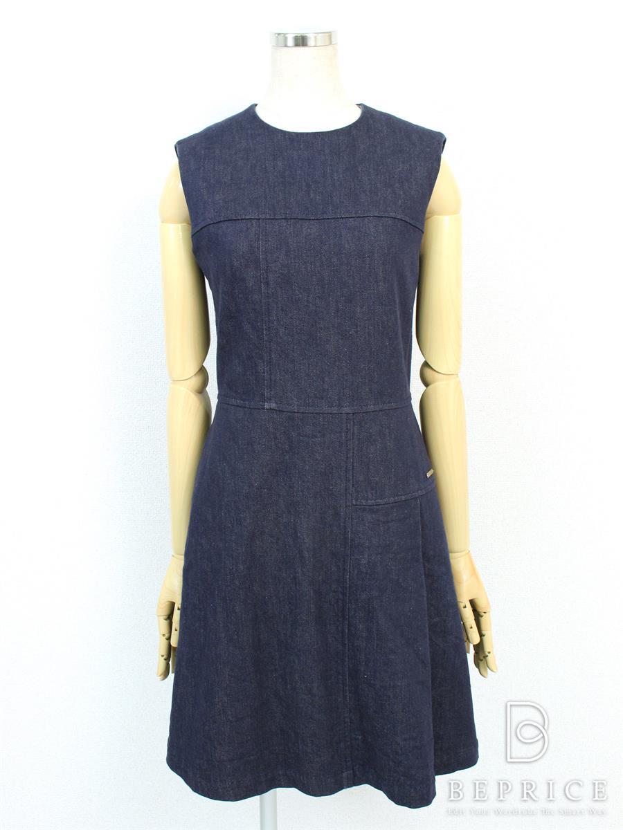 フォクシーニューヨーク ワンピース ワンピース indigo dress 35808