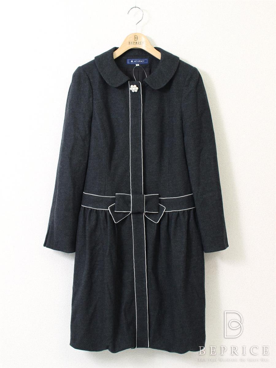 エムズグレイシー コート コート 衿付