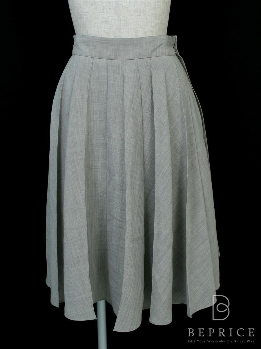 フォクシーブティック スカート スカート Overwrap Pleat ボタン取れあり 35696