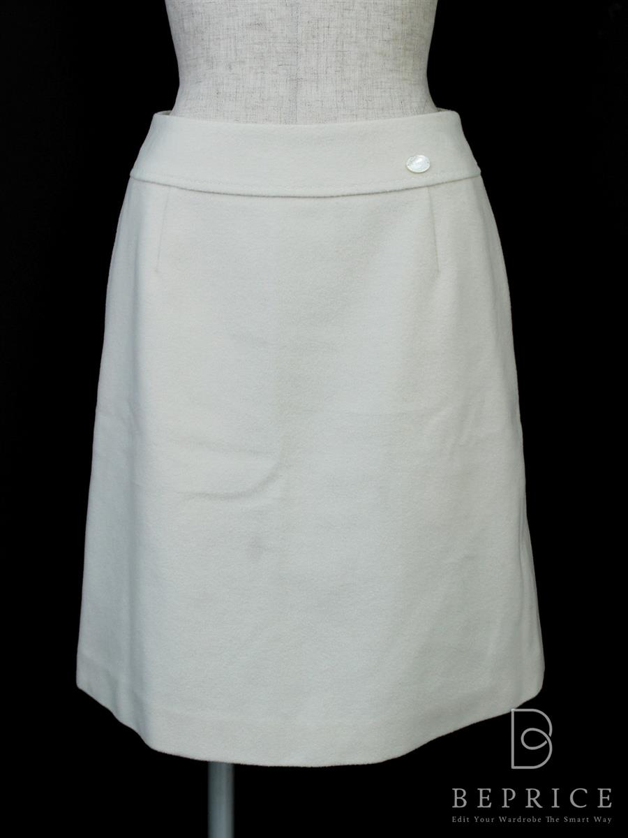 フォクシーブティック スカート スカート フレアー ウール 36314