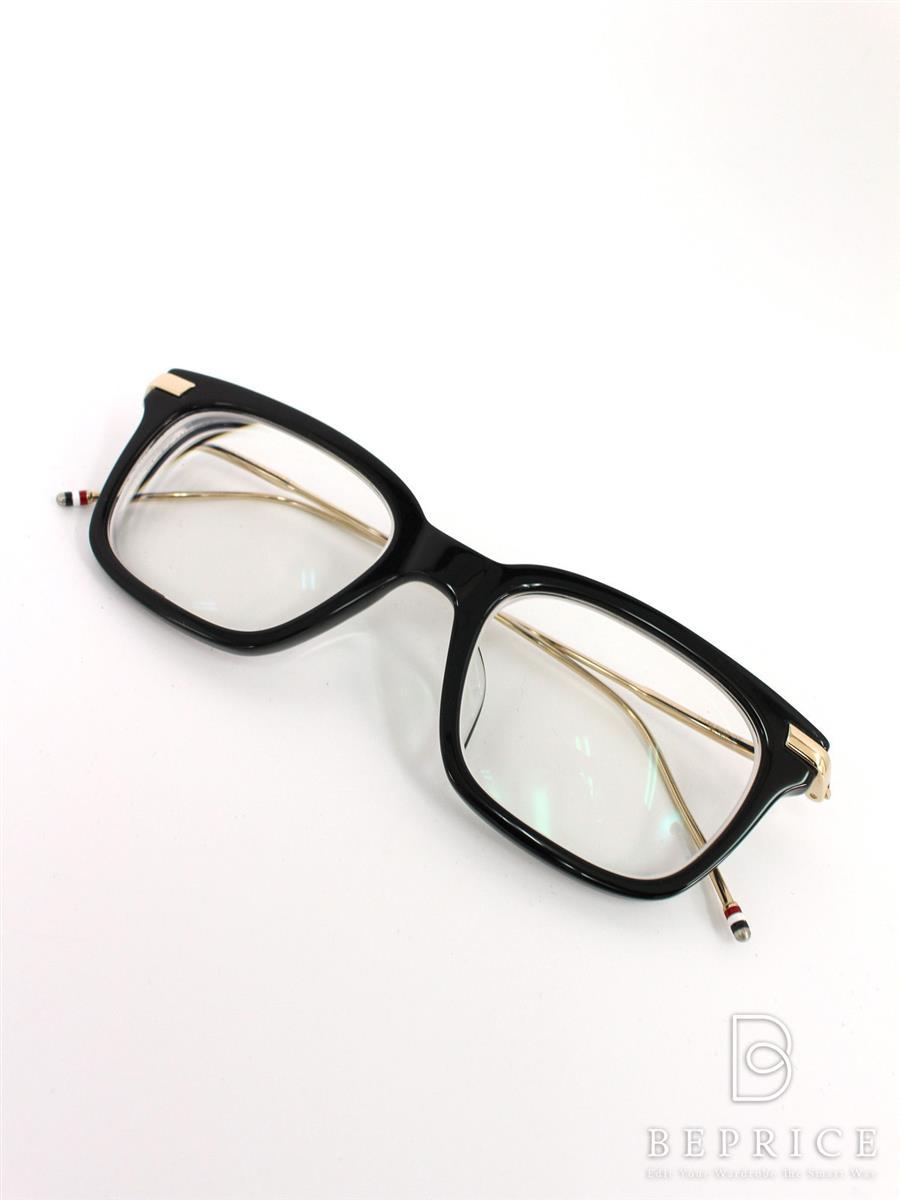 トムブラウン 眼鏡 フレーム セルフルリム TB-701 A GLD 49【49□19-150】