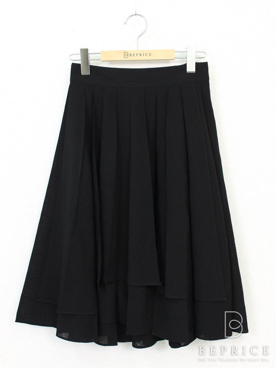 デイジーリン for フォクシー スカート スカート aisy Washable Overwrap Pleat Skirt 35696