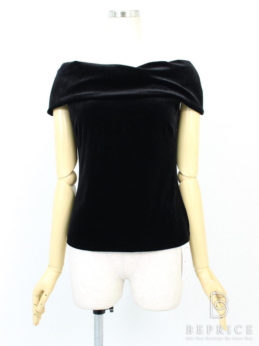 ベロアノワール by フォクシーニューヨーク Tシャツ カットソー トップス ノースリーブ ベロア 35924