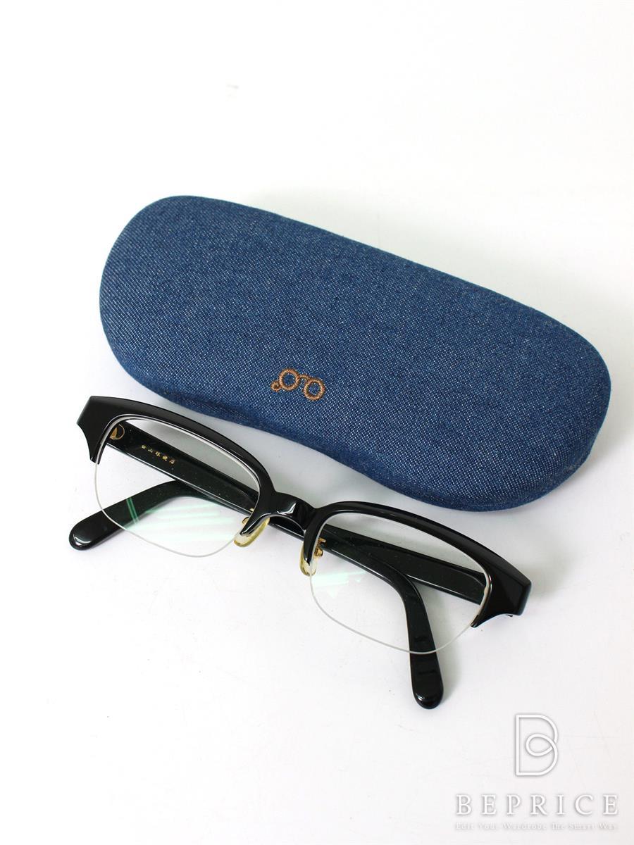白山眼鏡店 眼鏡 メガネフレーム ブラック