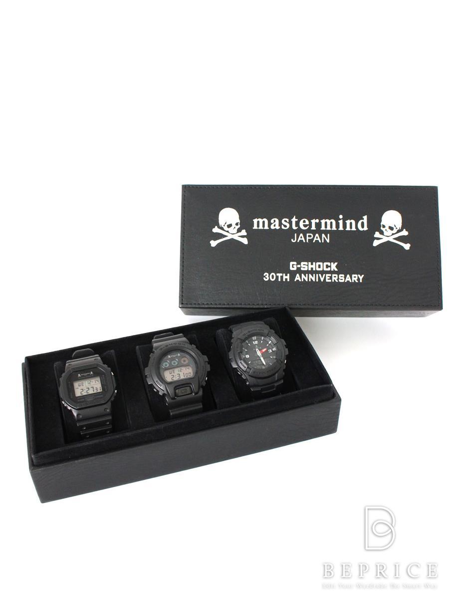 カシオ 腕時計 クオーツ マスターマインド カシオ Gショック 30周年記念3点セット