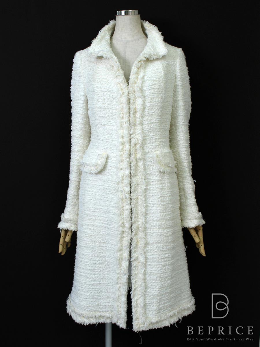 エポカ コート コート ツイード 薄汚れあり