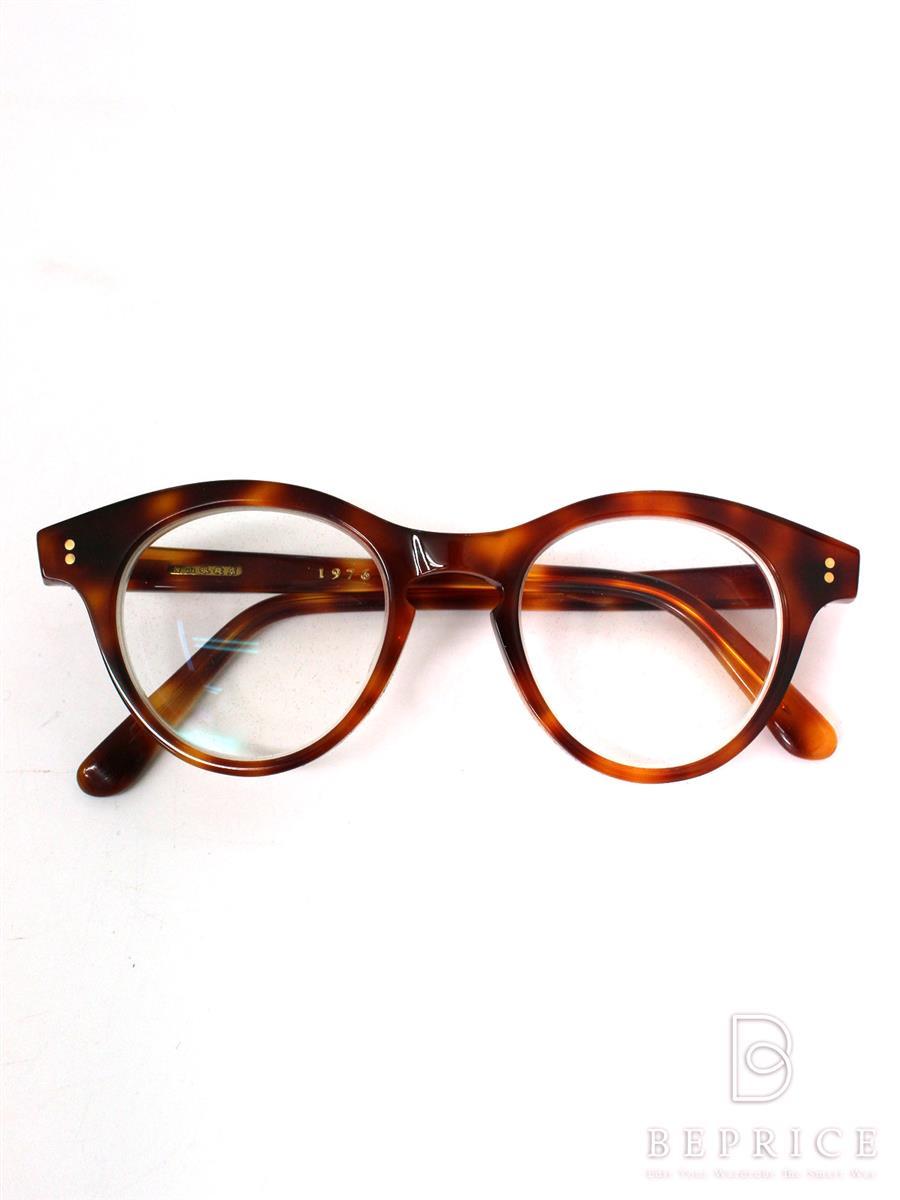 白山眼鏡店 ガネ フレーム ボストン セルフルリム 1976