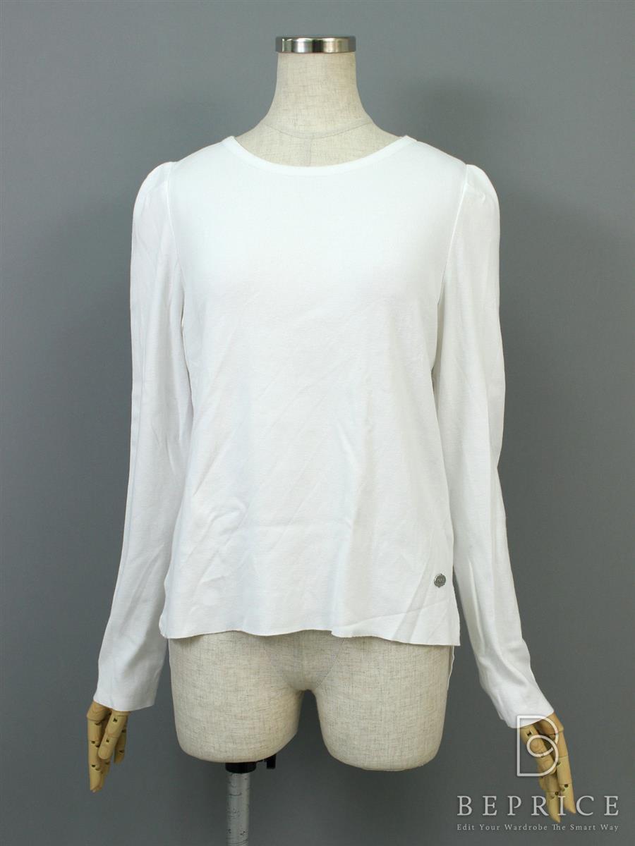 フォクシーブティック Tシャツ カットソー トップス SLIM SWEATER 生地ヨレあり 35309