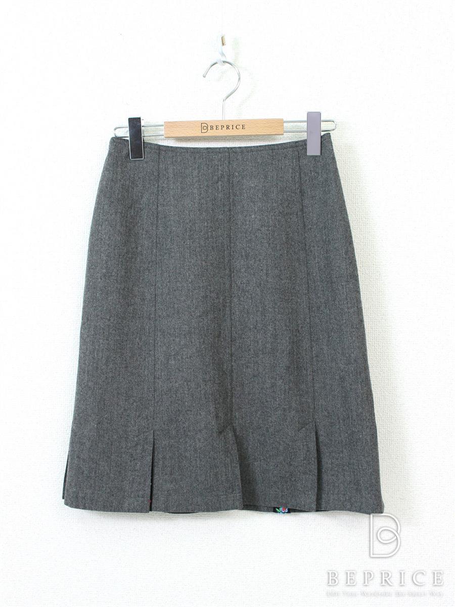 ルネ スカート スカート 花刺繍