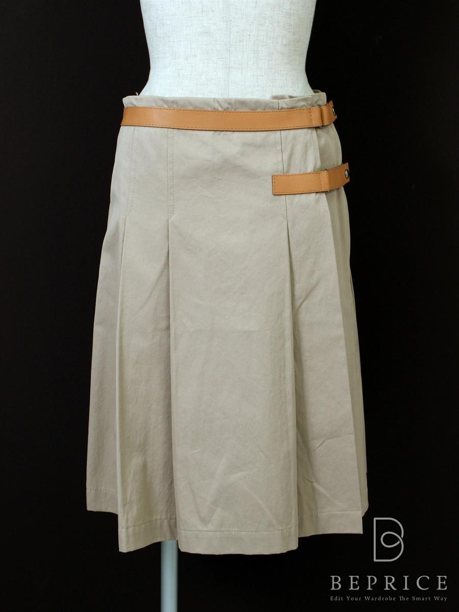 ミュウミュウ スカート 巻きスカート