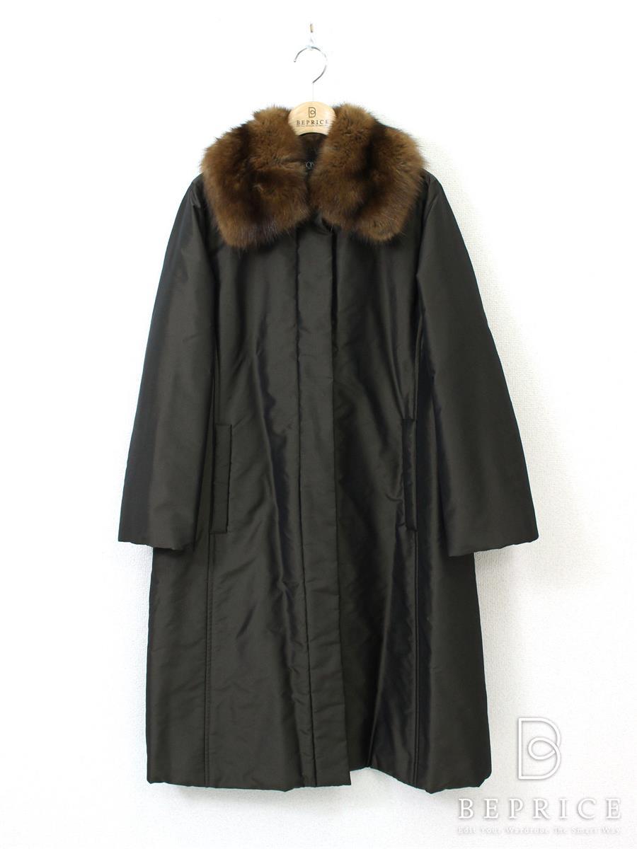 フォクシーブティック コート コート セーブルファー付 19375