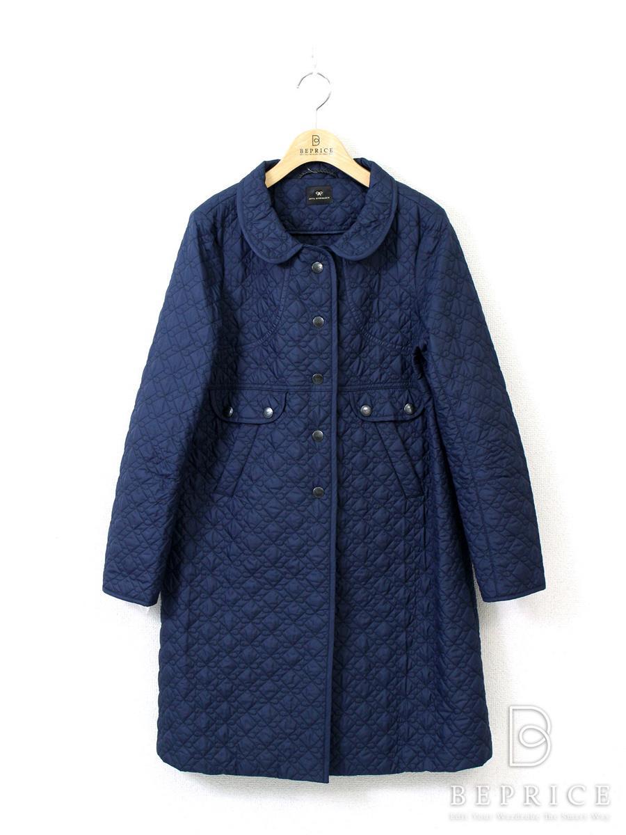 アニヤハインドマーチ コート ANYA HINDMARCH アニヤハインドマーチ コート キルティング リボン刺繍