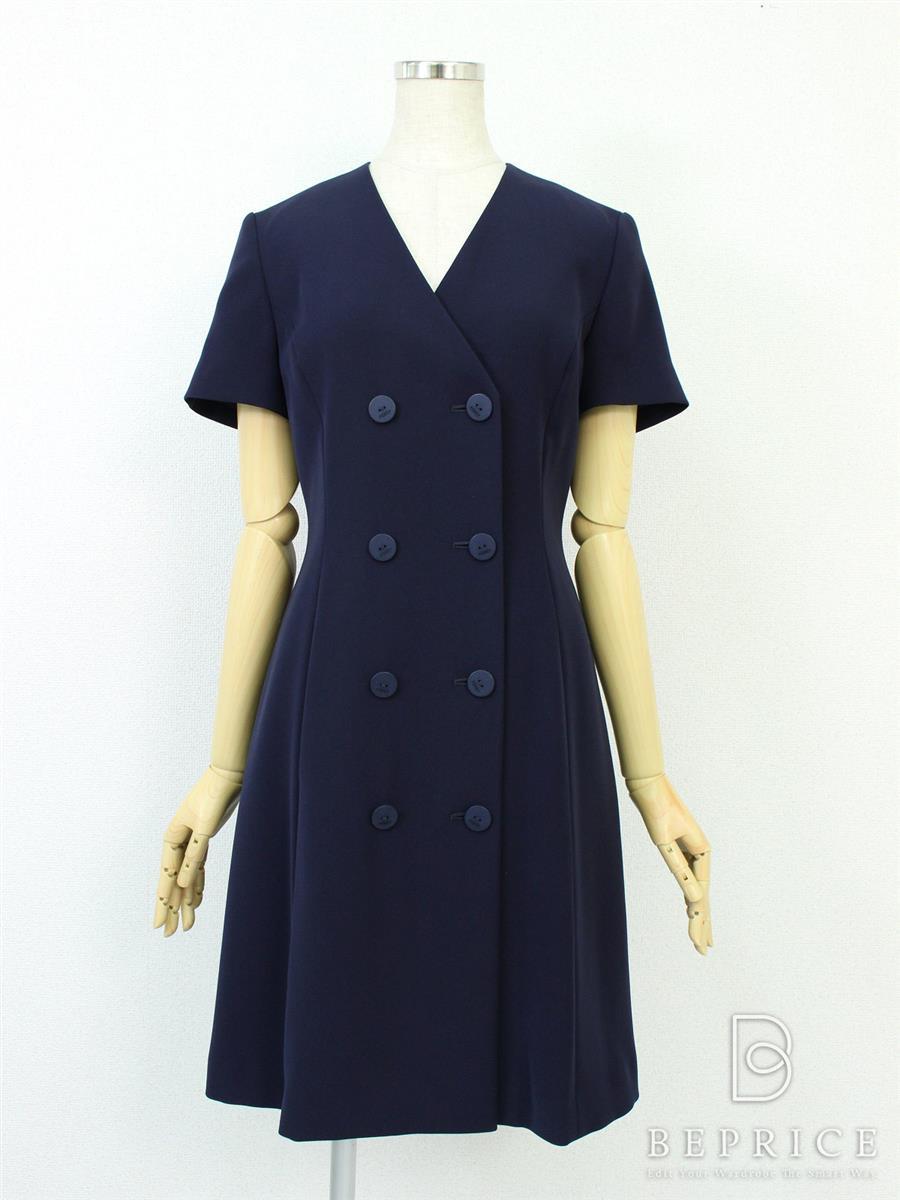 フォクシーニューヨーク Double Breasted Tailored Dress
