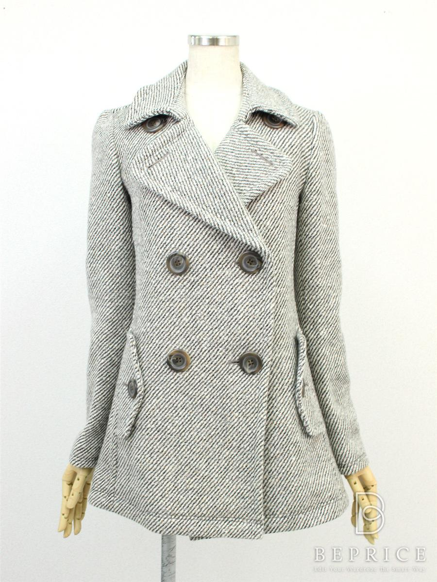 バーバリーブルーレーベル コート コート 衿付