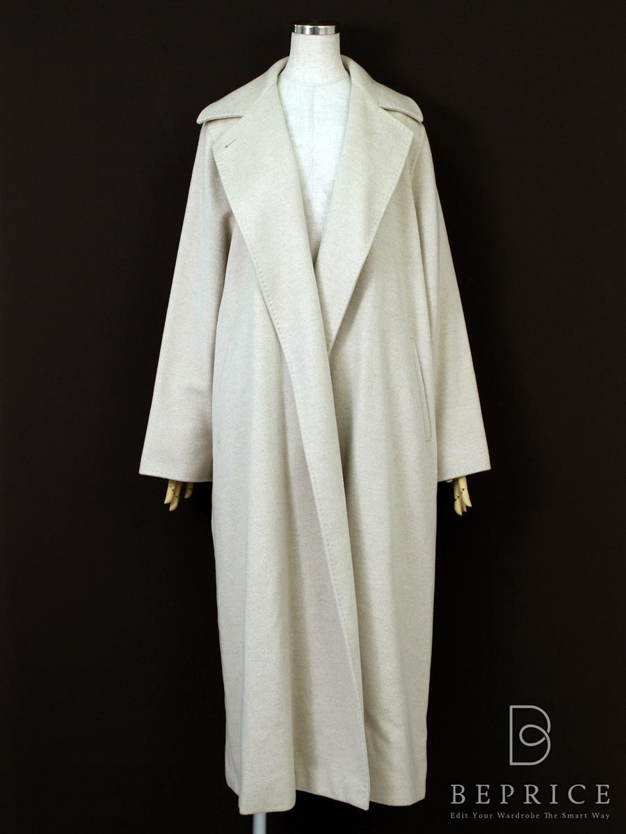 マックスマーラ コート コート 衿付 カシミヤ 小さなシミ等あり