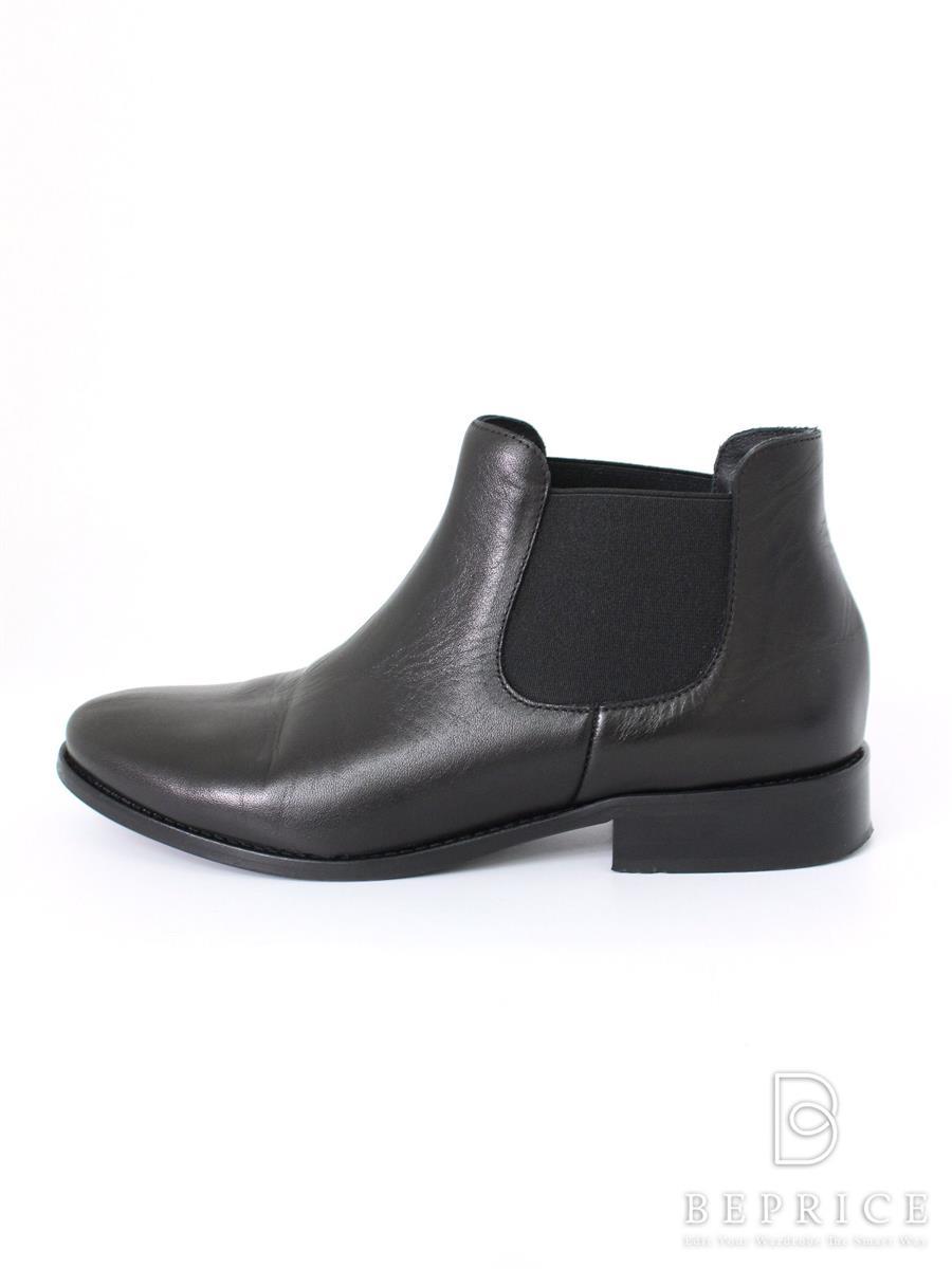 ファビオルスコーニ ブーツ FABIO RUSCONI ファビオルスコーニ ブーツ サイドゴア ショート シワあり