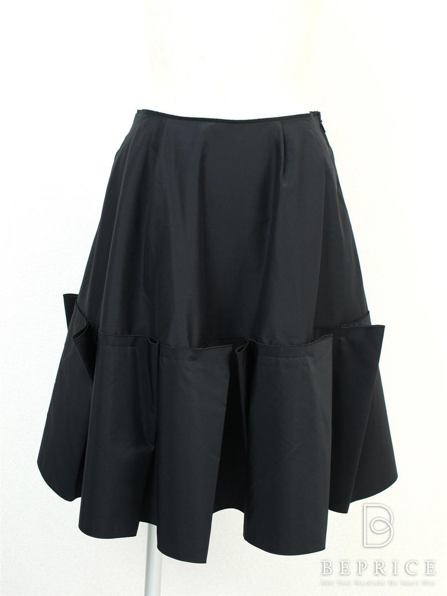 フォクシー 2014年 スカート フレアー 32088 ブラック