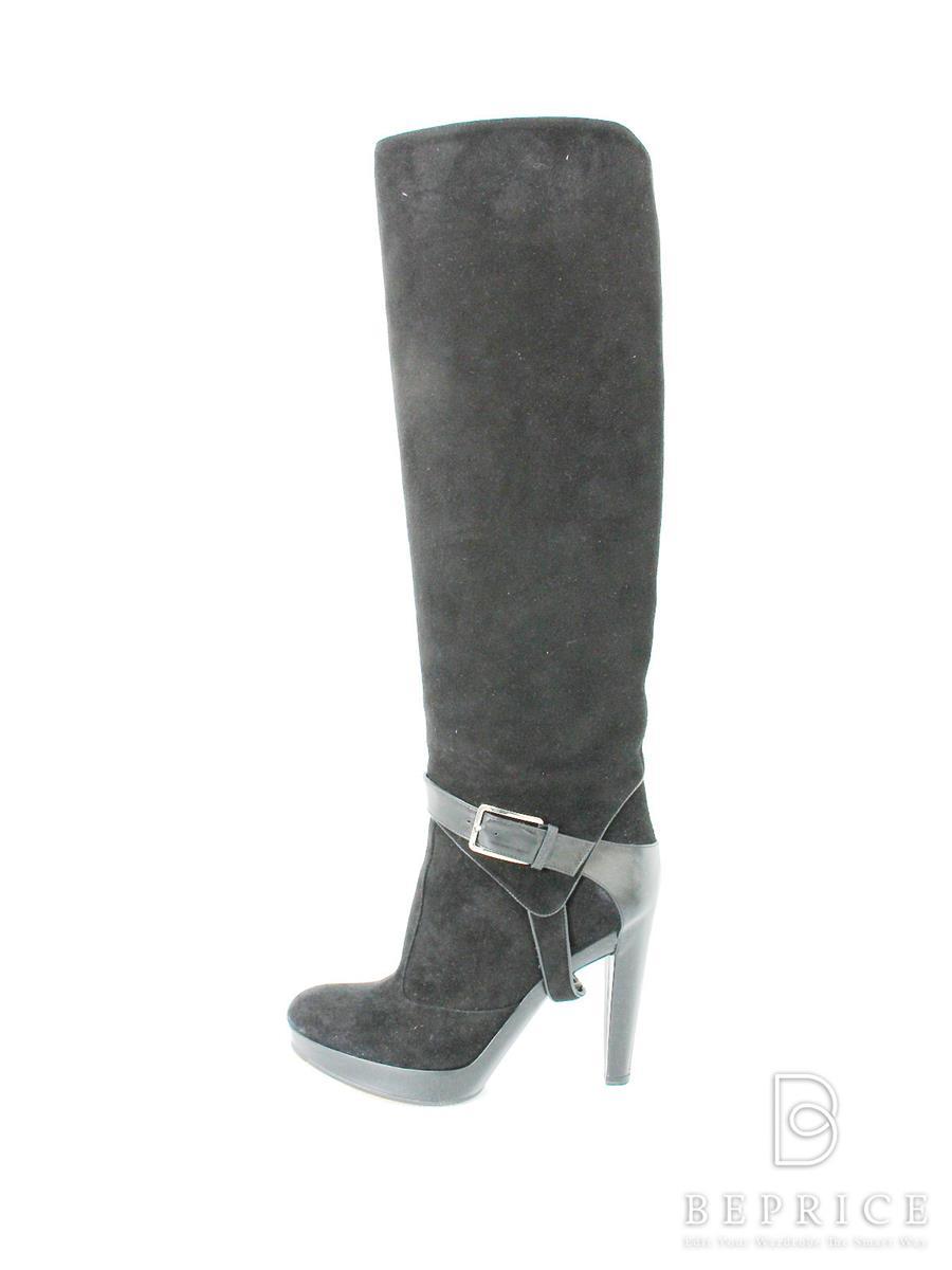 reputable site 20996 15d0b ディオール ブーツ Dior ディオール ロングブーツ スエード 買取 ...