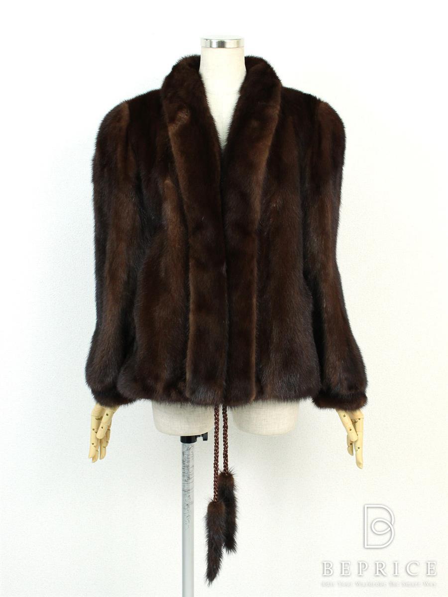 サガミンク 毛皮 コート SAGA サガシルバー コート ミンクファー 毛皮