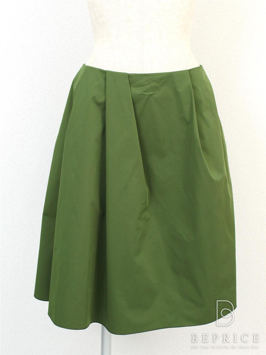 フォクシーニューヨーク スカート スカート グログランブーケ 32615