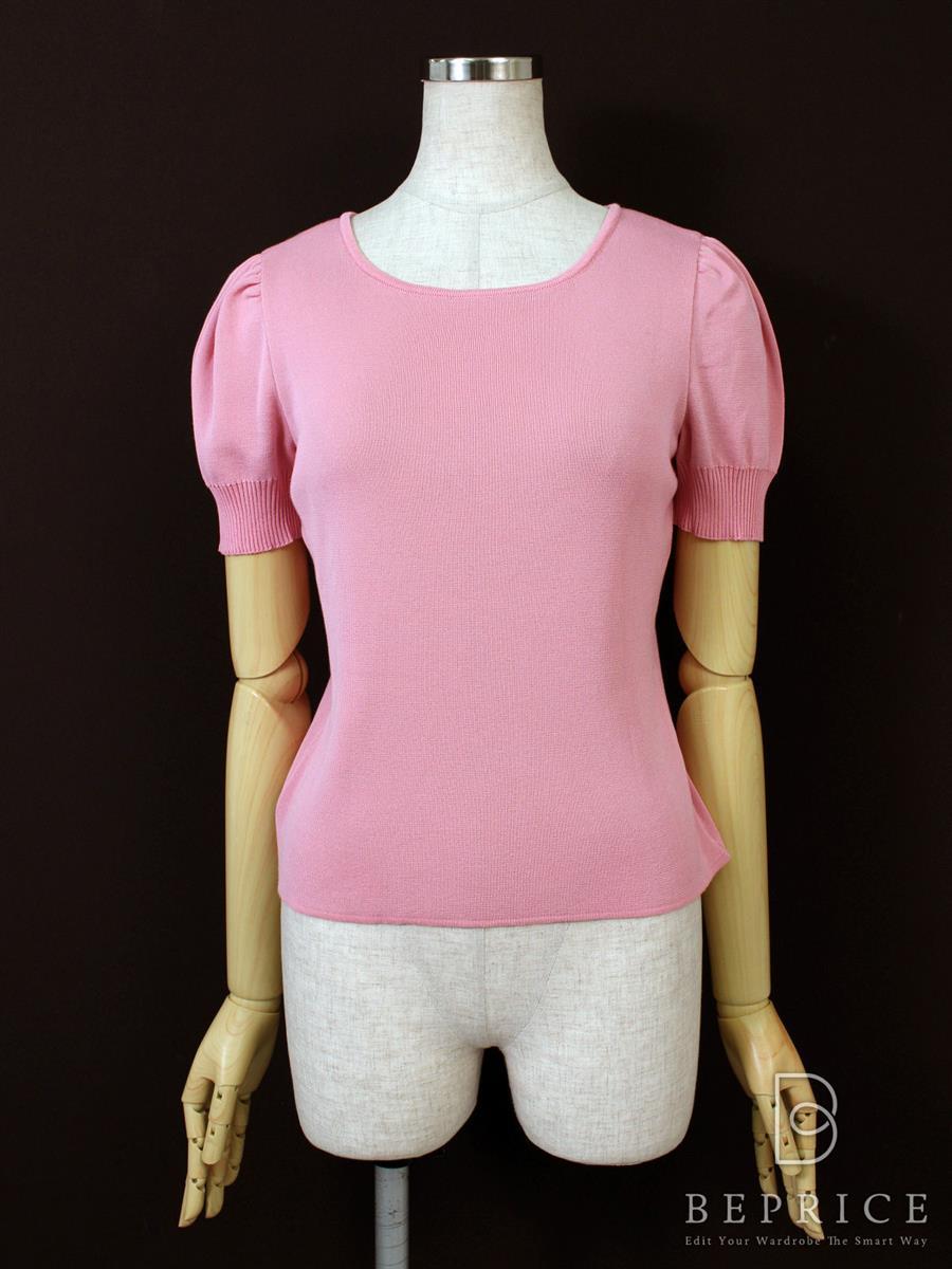 エムズグレイシー セーター 半袖 リボン