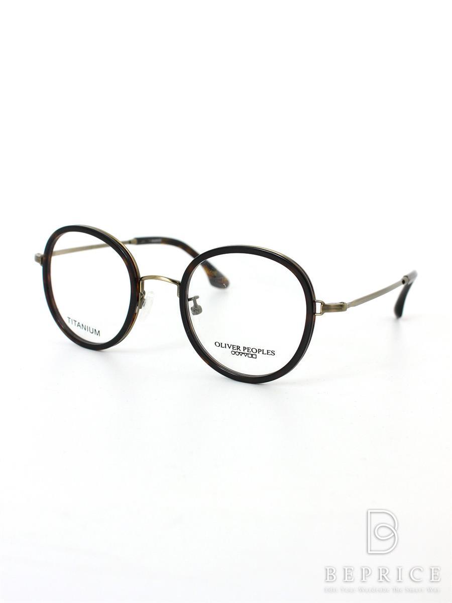 オリバーピープルズ メガネ OLIVER PEOPLES オリバーピープルズ 眼鏡 フレーム ブランド刻印スレあり