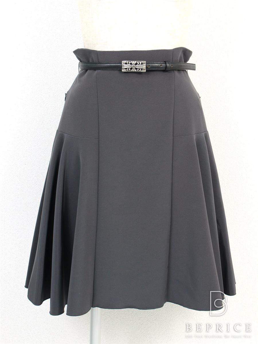 フォクシーニューヨーク スカート スカート フレアー 薄汚れあり 27689