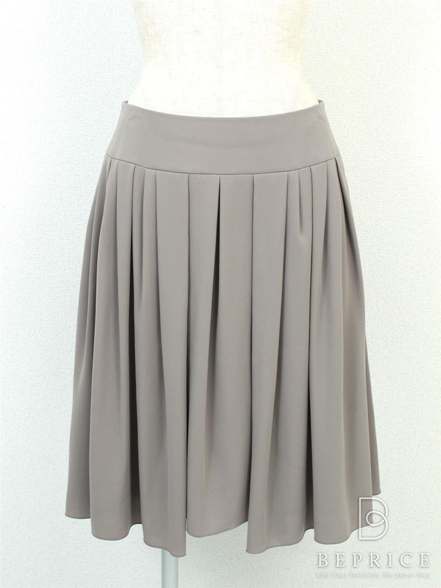 フォクシーニューヨーク スカート スカート プリーツ風 小さな糸ツレあり 28108