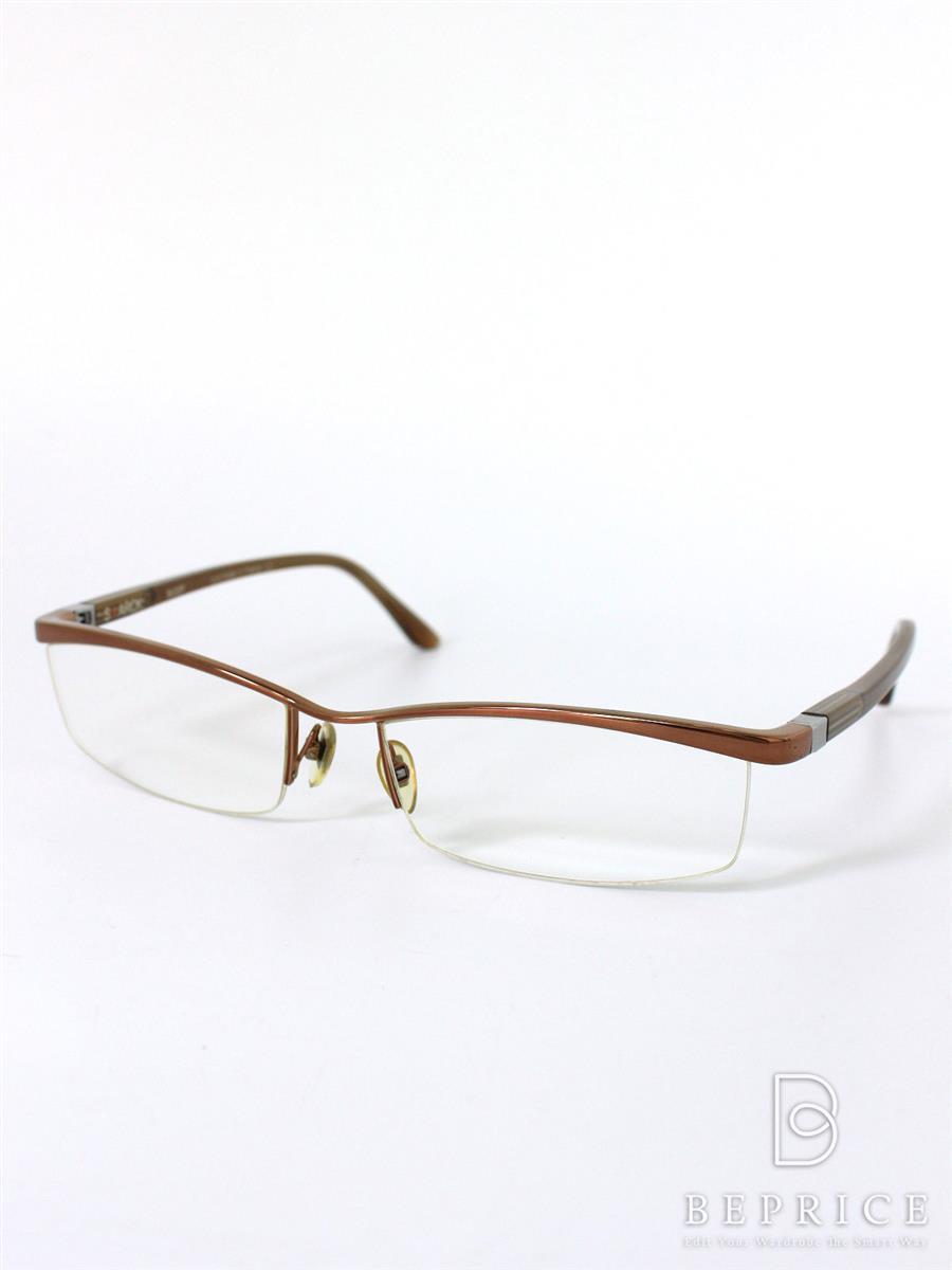 アランミクリ アランミクリ 眼鏡フレーム スタルクアイズ メタルナイロール PL0001 0023【56□17 140】