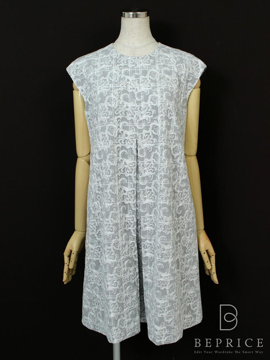 フォクシーニューヨーク Collection ワンピース ノースリーブ Combo Shift Dress COLLECTION