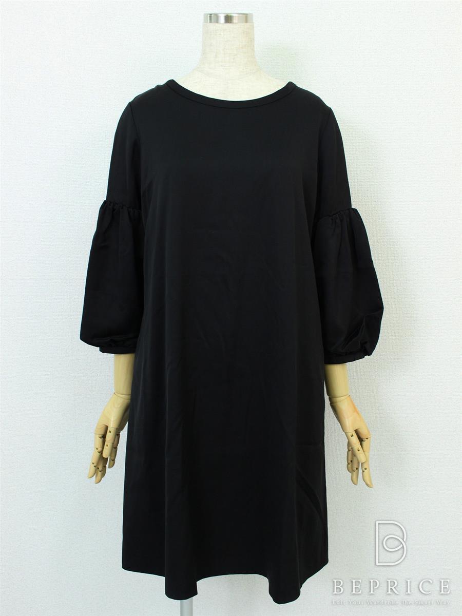 フォクシーニューヨーク Collection ワンピース ワンピース Cupra Satin Novelty Sleeve Dress COLLECTION 36611