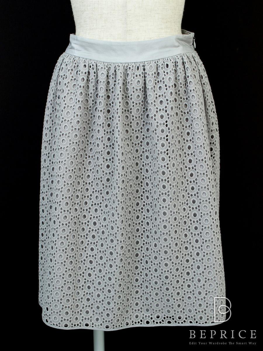 アルマーニ フレアースカート 刺繍