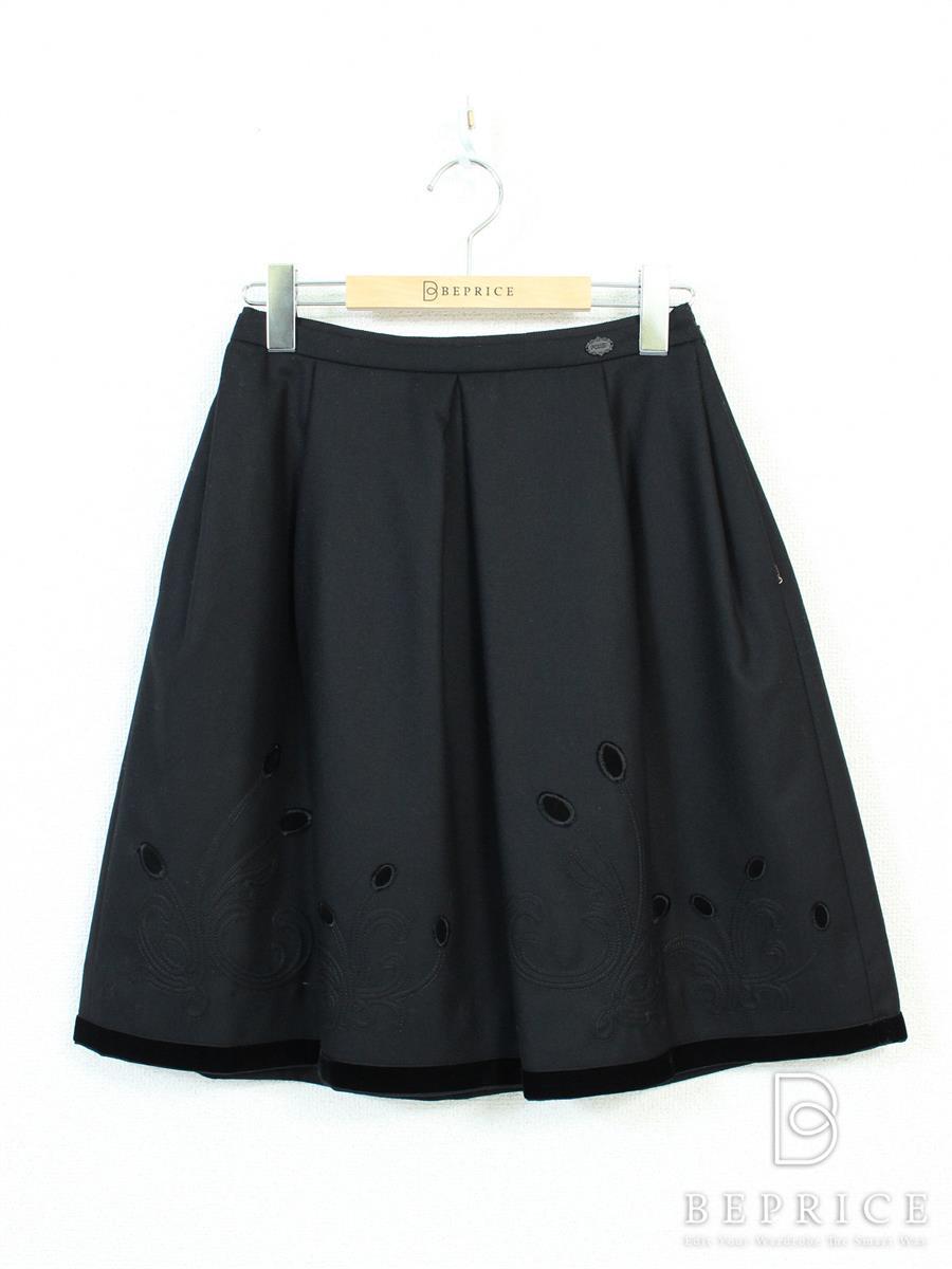 フォクシーブティック スカート スカート 刺繍 SP品 34459