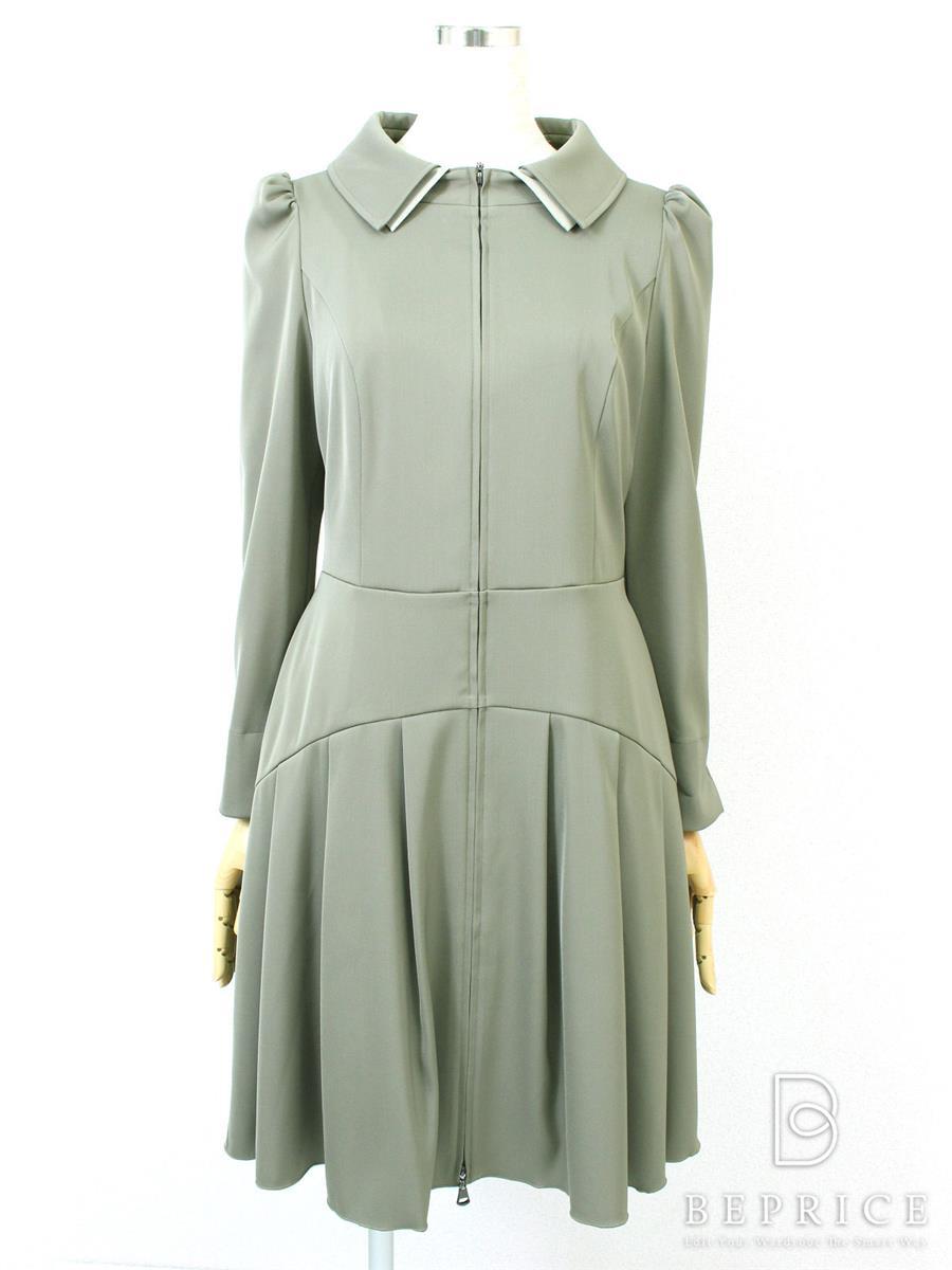 ワンピース ワンピース 長袖 襟付 スマートコートドレス2