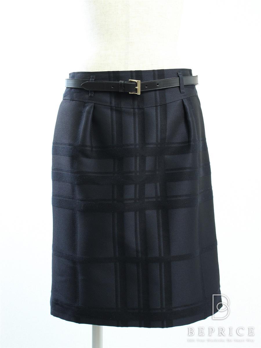 バーバリーロンドン スカート スカート チェック柄