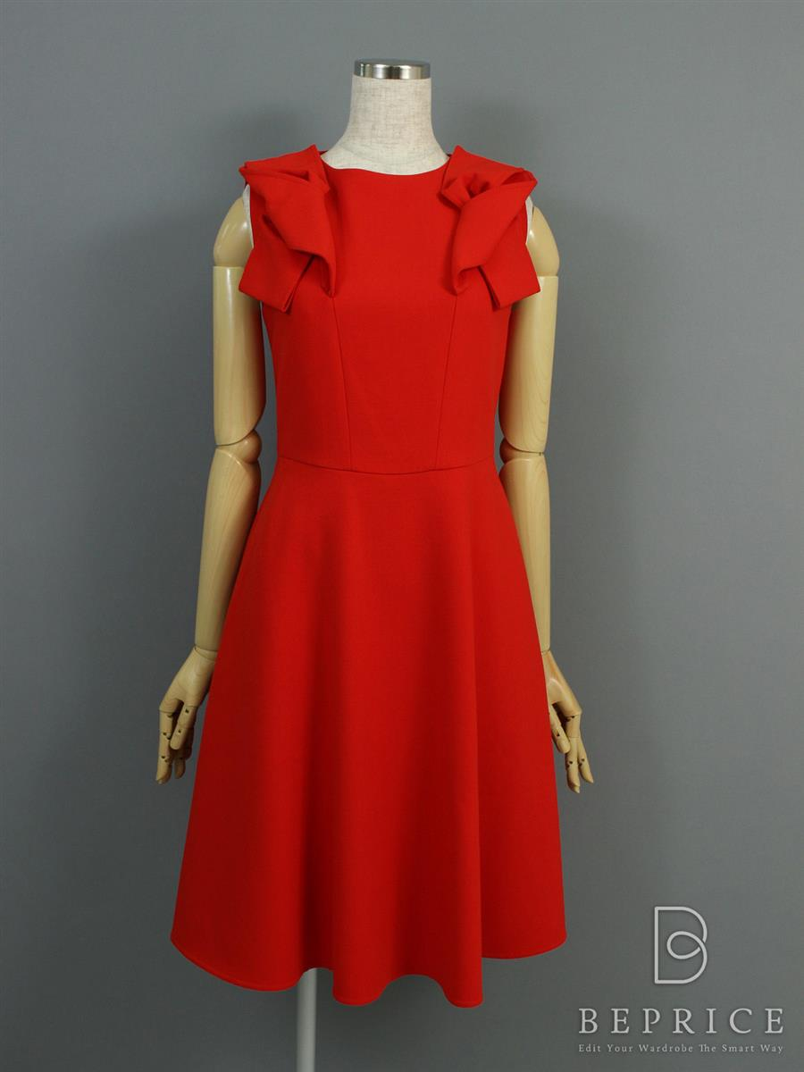 フォクシーブティック ワンピース ノースリーブ Doubel Twisted Bow Dress