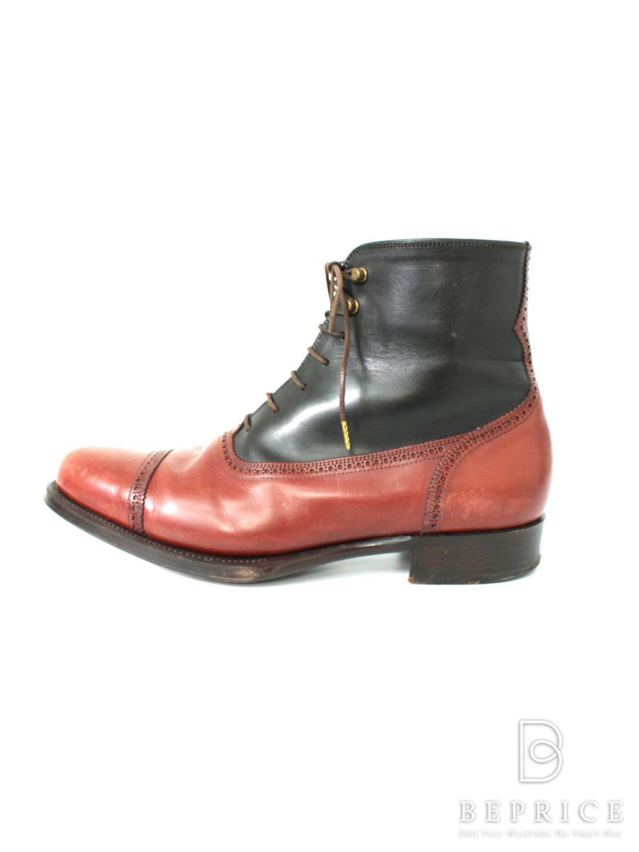 オーセンティックシュー&コー ブーツ AUTHENTIC SHOE&Co オーセンティック 靴 ブーツ レースアップ スレあり
