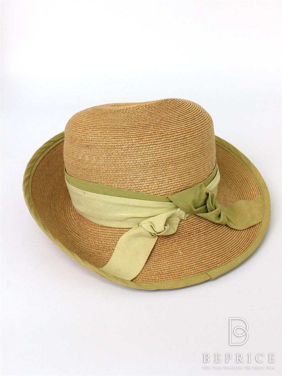 フォクシーブティック 麦わら帽子 帽子 ストローハット 麦わら