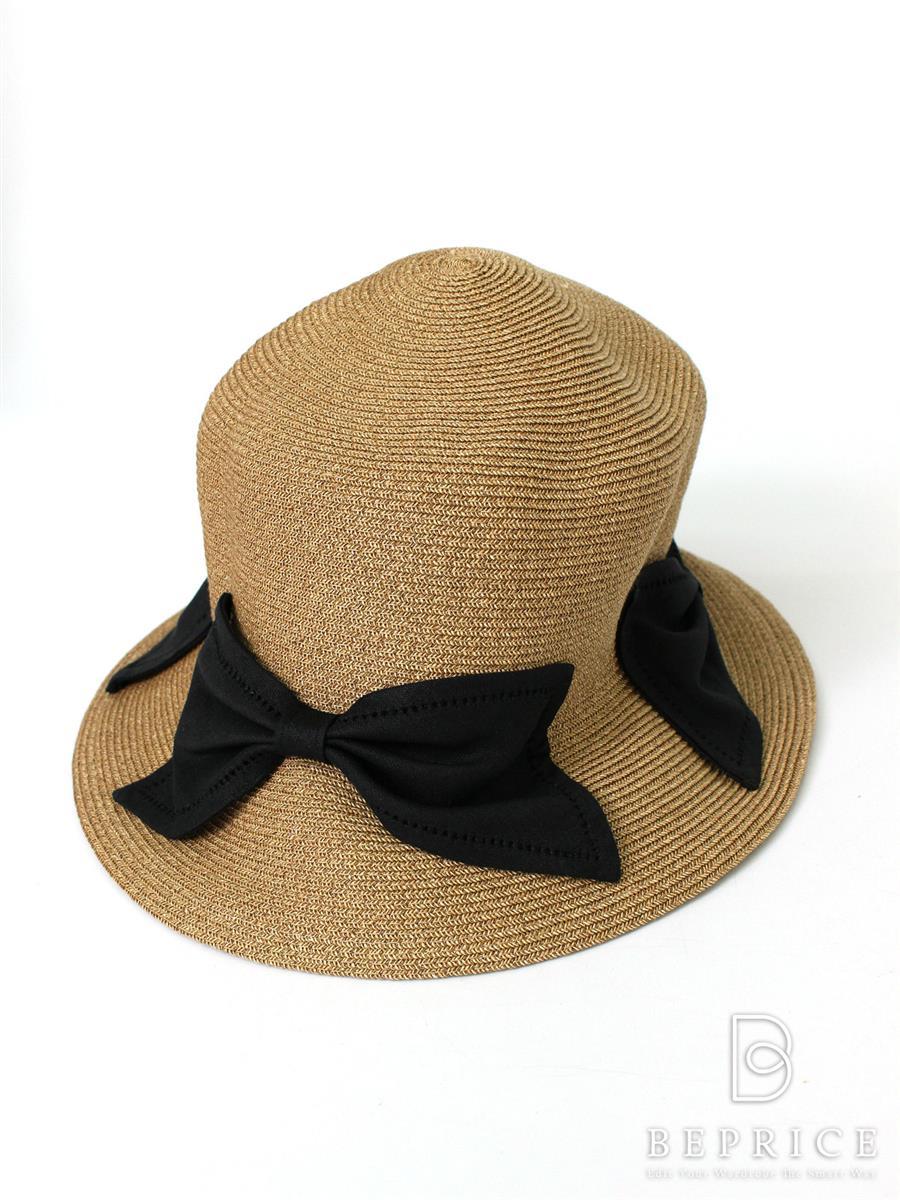 アシーナニューヨーク 麦わら帽子 Athena New York アシーナニューヨーク 帽子 ストローハット リボン