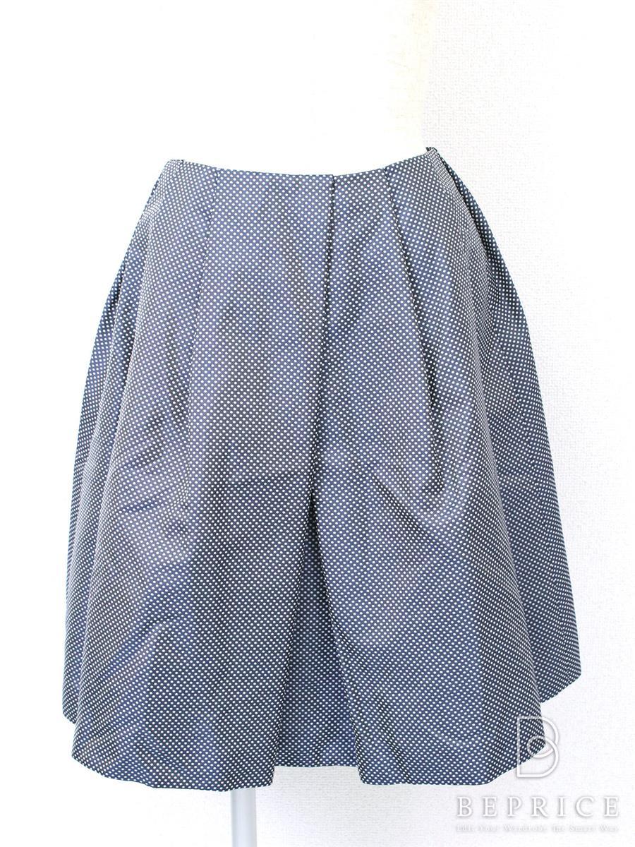 ルネ スカート スカート ドット柄
