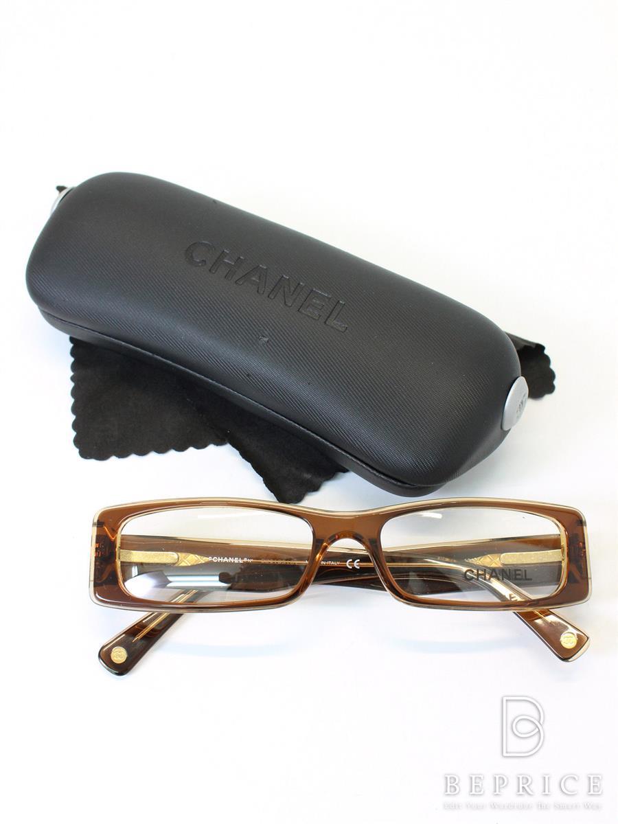 シャネル メガネ 眼鏡 メガネフレーム