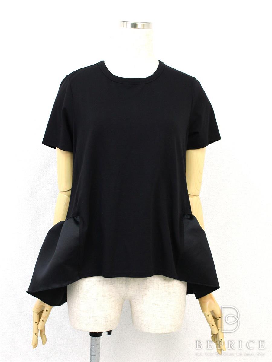 ヨーコチャン Tシャツ カットソー トップス 半袖 裾フリル
