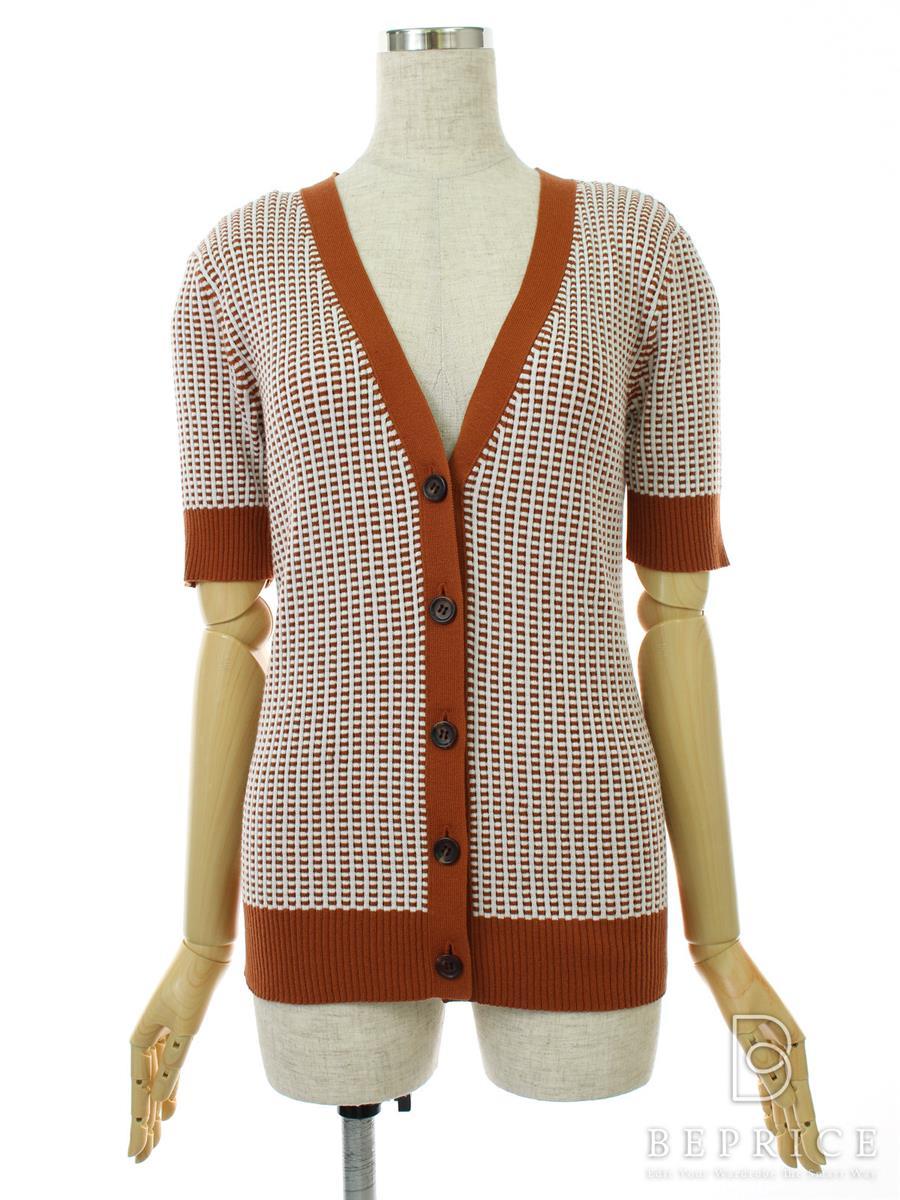 フォクシーニューヨーク Collection カーディガン Honeycomb Rib V-neck Collection